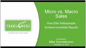Micro vs. Macro Sales